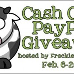 Enter to win $235 through the Cash Cow PayPal Giveaway!