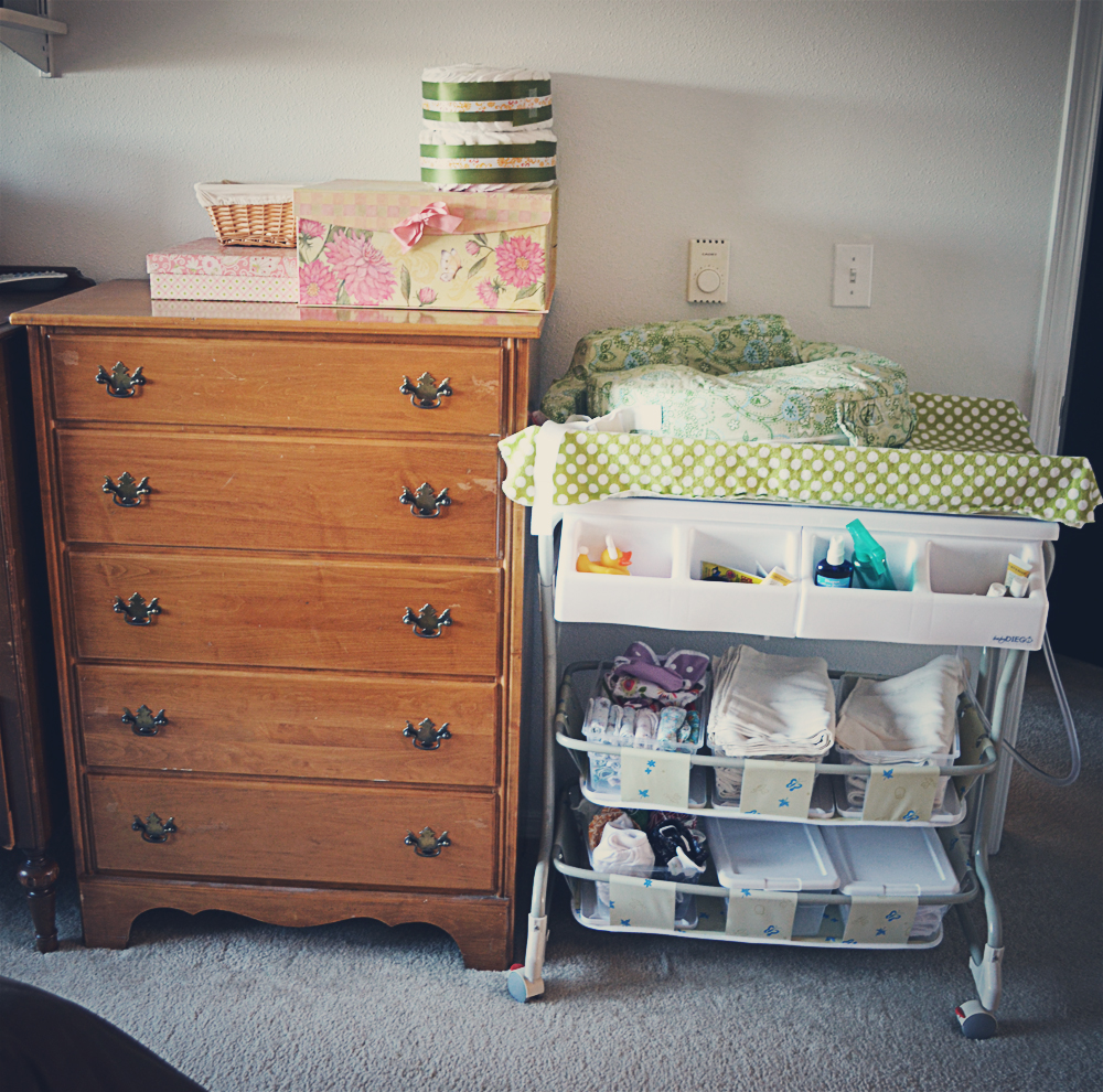 Baby Stuff Storage Challenge: Bottles and Blankets