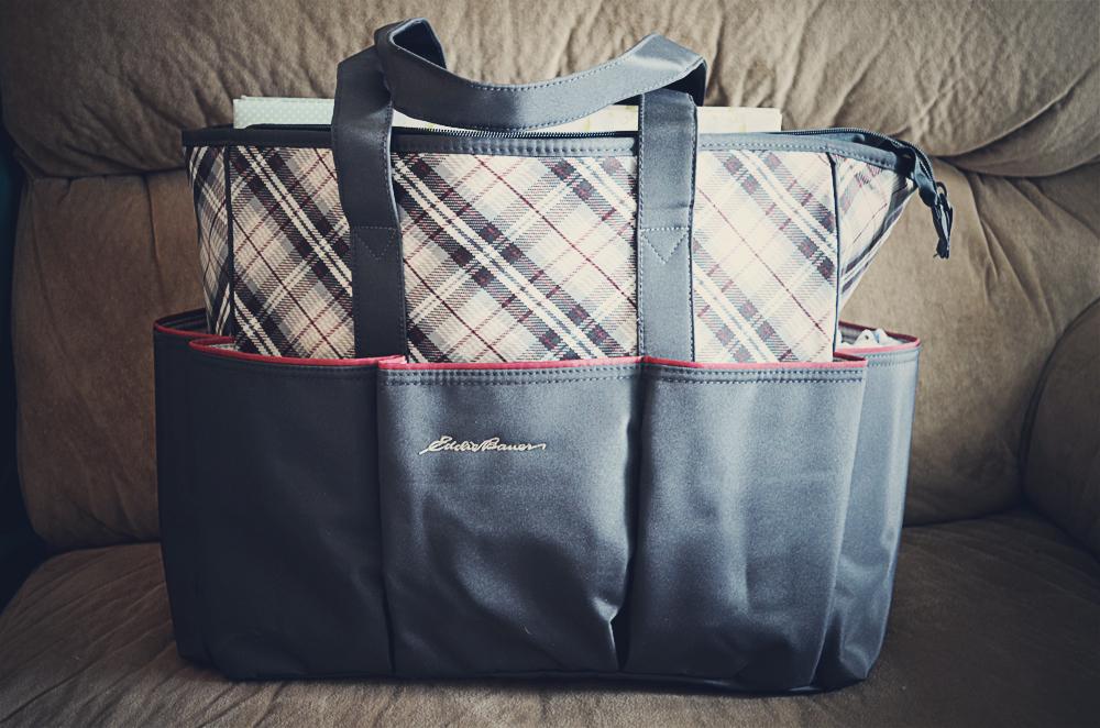 Nesting: Baby's Hospital Bag