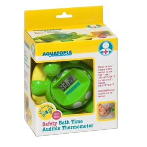 Ohh Baby Baby Giveaway: Aquatopia Deluxe Safety Bath Thermometer Alarm Spotlight #babybabyhop