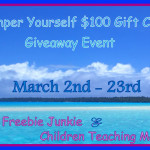 Pamper Yourself $100 Gift Card Giveaway Event – #PamperYou