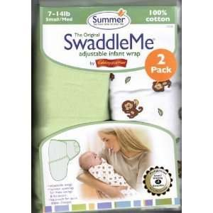 Summer Infant Cotton Knit SwaddleMe 2-pack