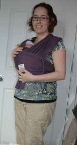 Babywearing is magic.