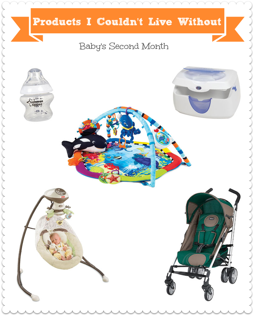 Best Products for Baby's Second Month