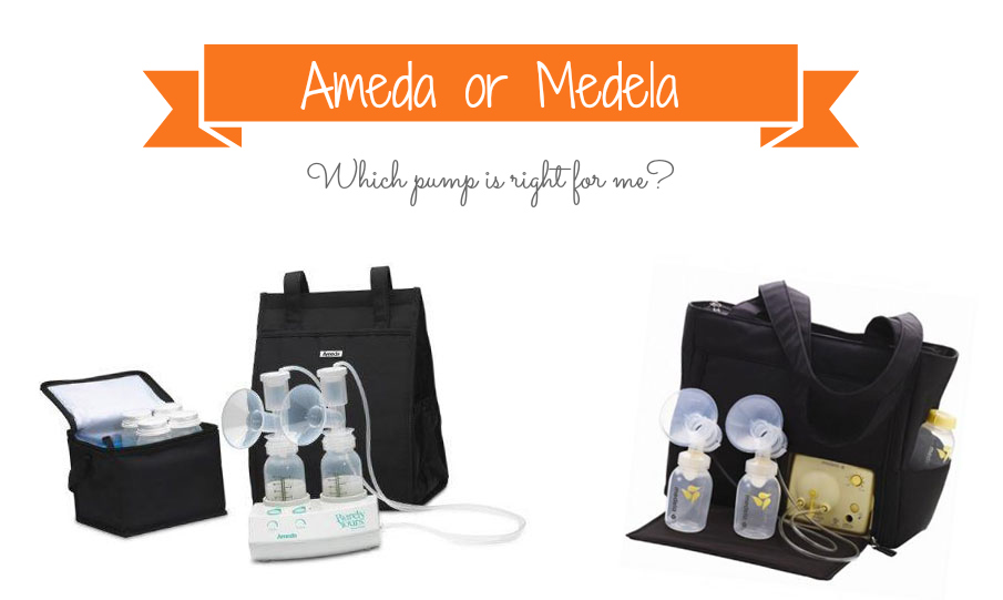 Ameda or Medela - Which pump is right for me?