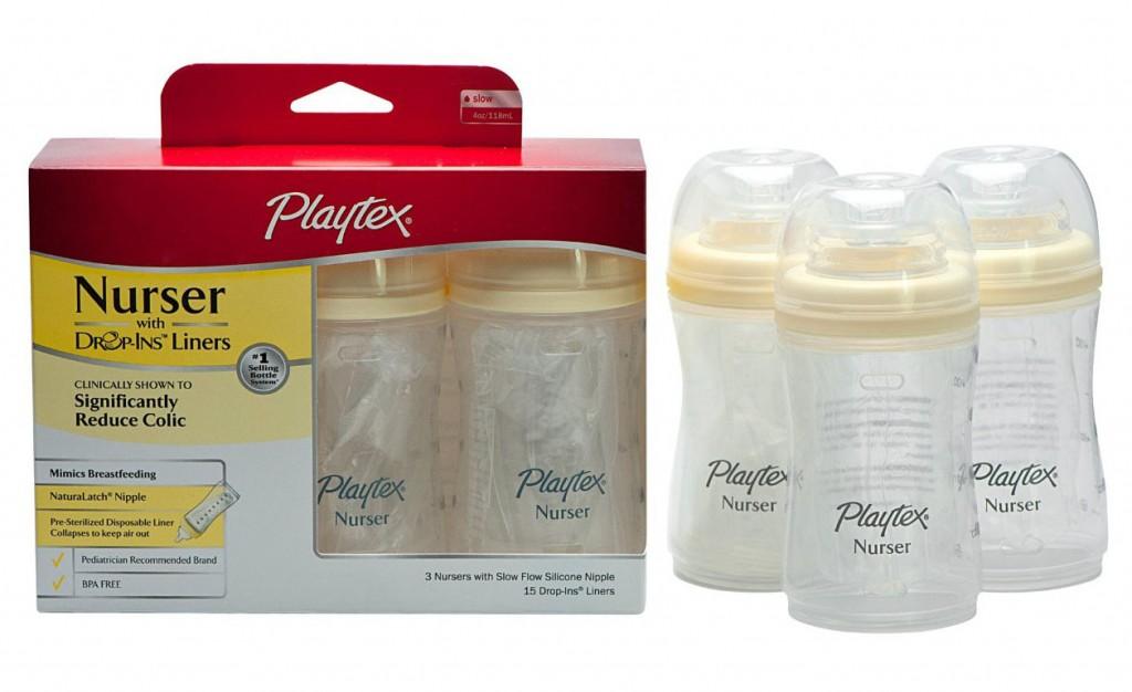 3-pack 4 oz. Playtex Nursers