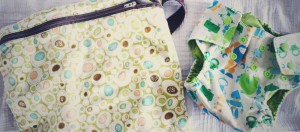 Flufftastic Summer Celebration Giveaway: Barrel and a Heap Diaper Cover and Planet Wise Wet Bag #clothdiaperhop