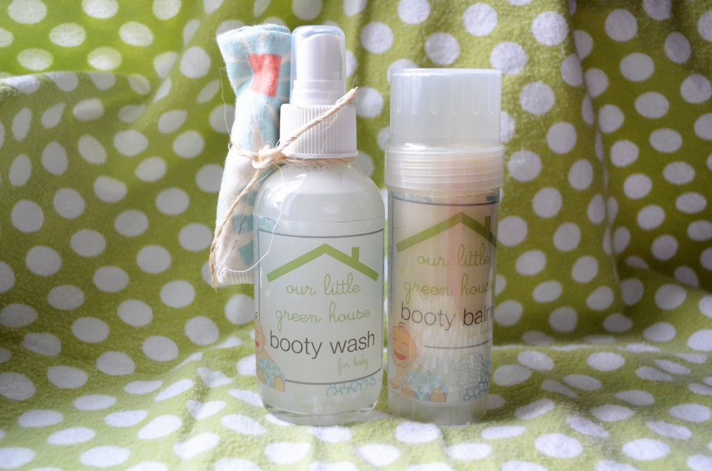 Our Little Green House Booty Wash and Booty Balm
