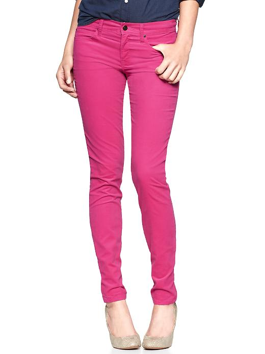 Hot pink skinny cords