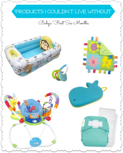 What You Need to Survive Baby's First Six Months