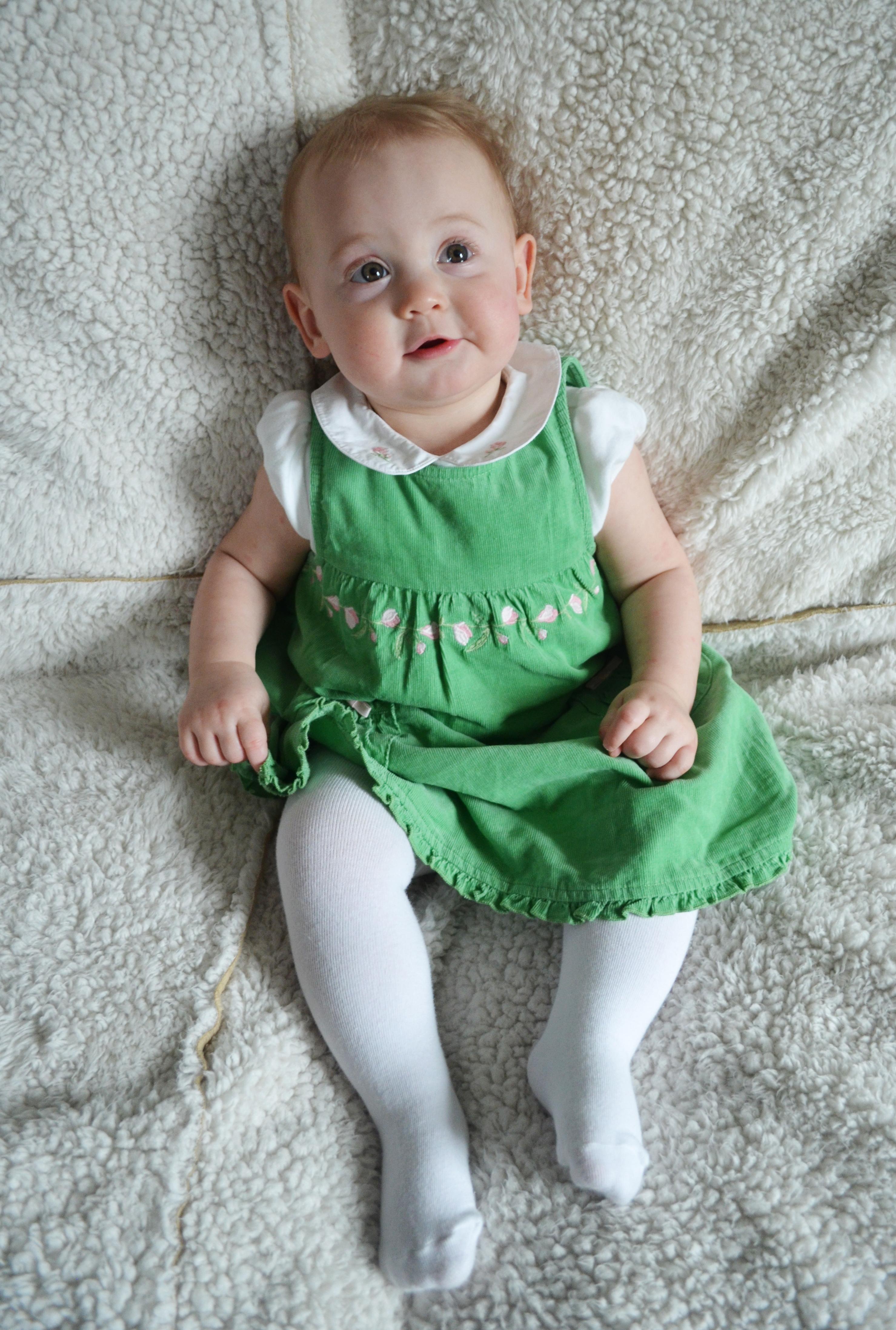 Isla at 11 months