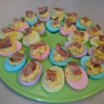 Fancy Easter [deviled] eggs