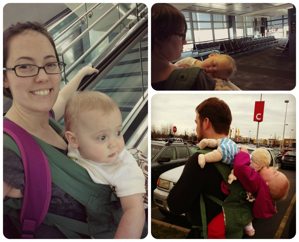 Our ERGObaby Organic Baby Carrier in Action
