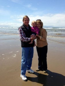 Isla with Grammy and Pops