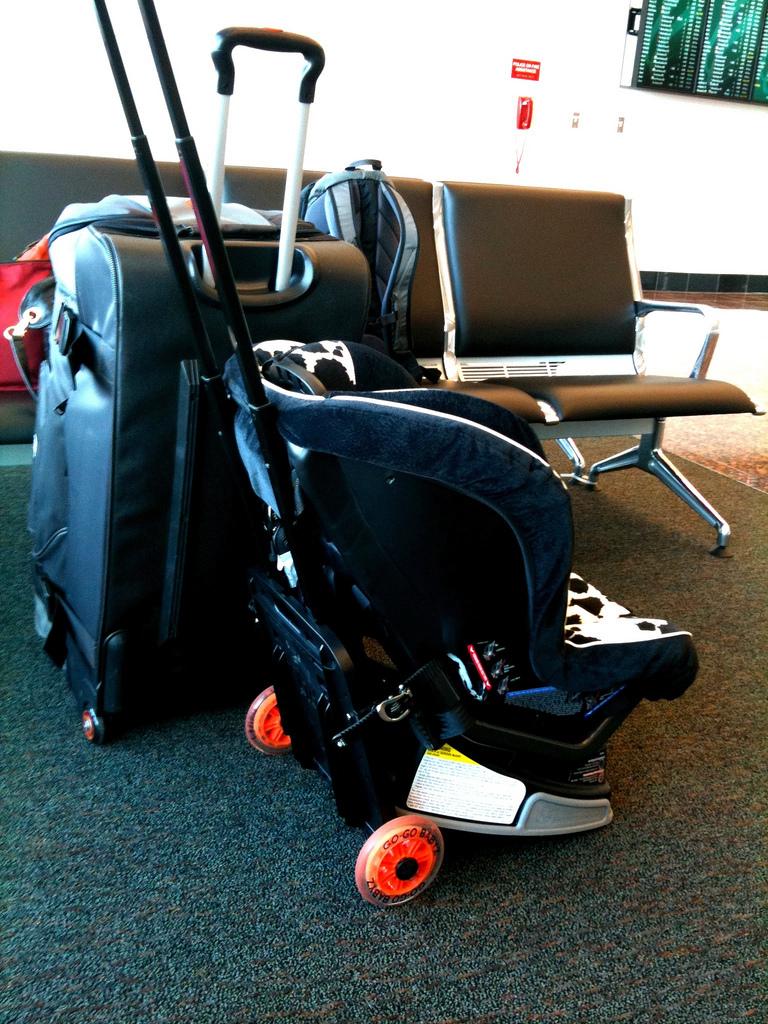 Car Seat in Airport