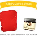 #SummerBabyLoving #Giveaway: BabyKicks Basic Pocket Diaper and Angel Baby Bottom Balm