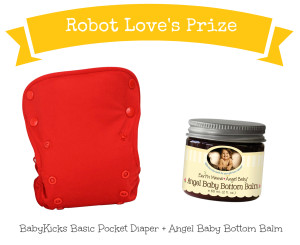 #SummerBabyLoving #Giveaway: BabyKicks Basic Pocket Diaper and Angel Baby Bottom Balm