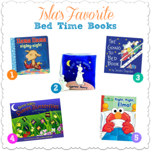 Isla's Favorite Bed Time Books
