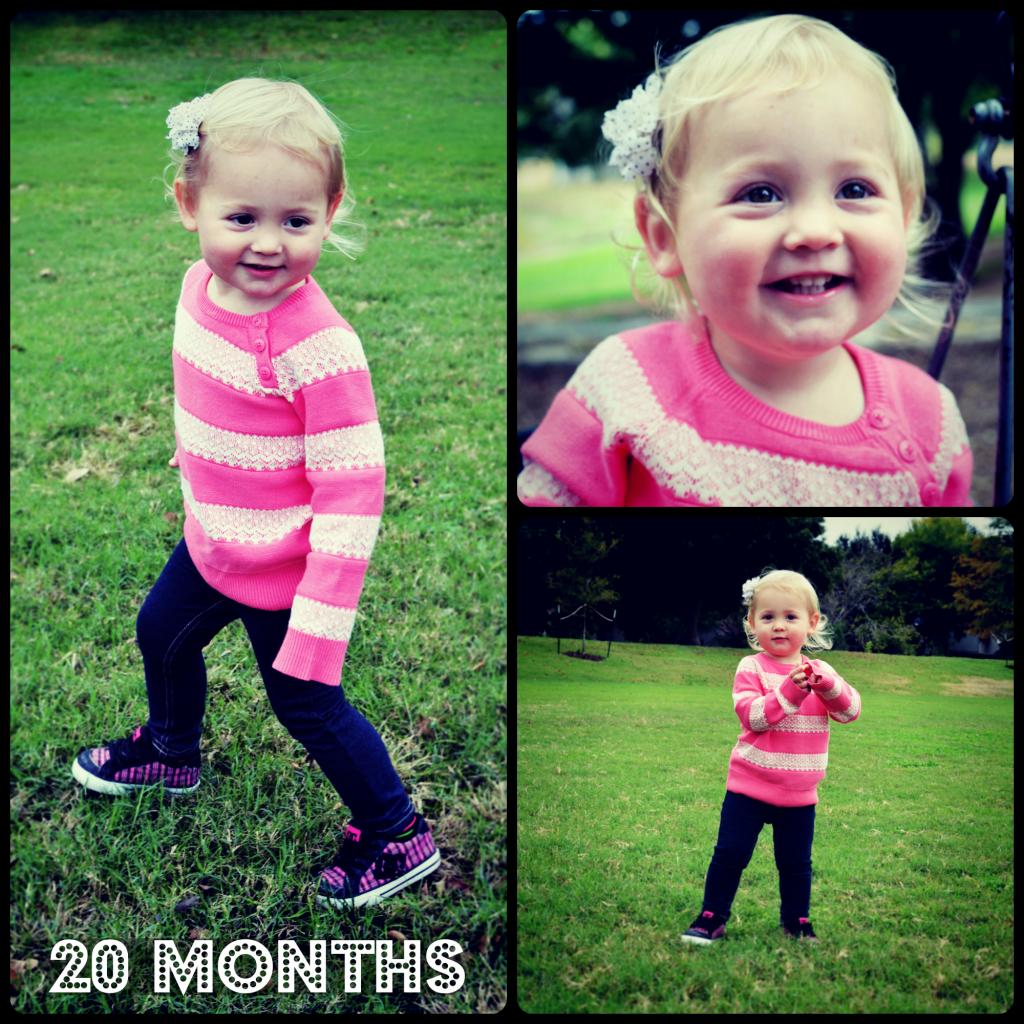 Isla at 20 months
