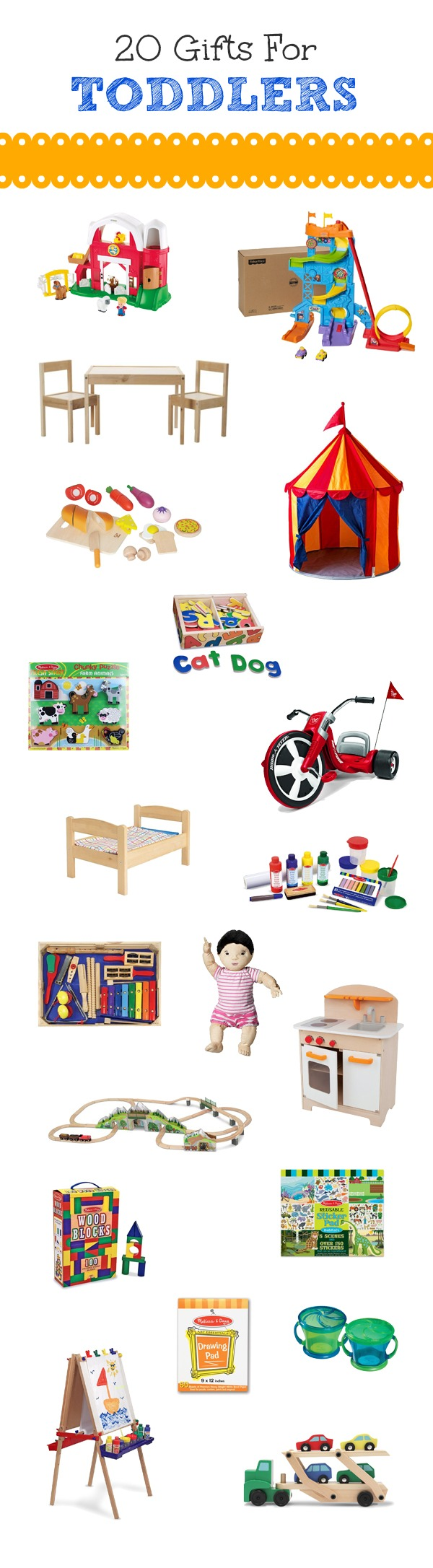 20 Gifts for Toddlers