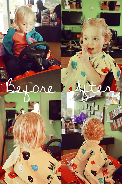 Isla's First Haircut