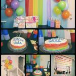 Isla's Rainbow 2nd Birthday Party