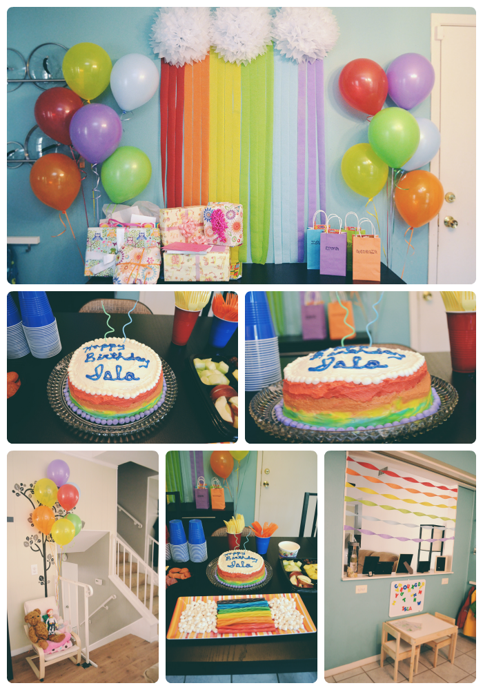 Islas Rainbow 2nd Birthday Party