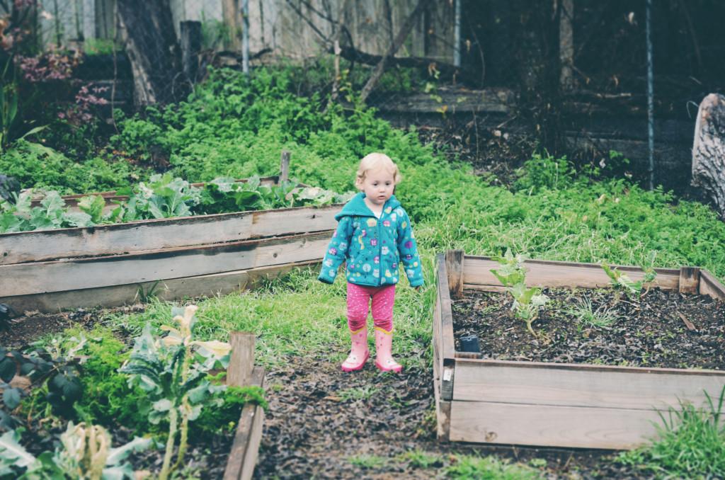 Isla in the garden
