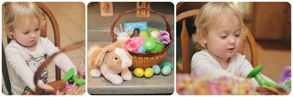 Isla's Easter Basket
