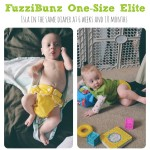 Cloth Diaper Review: FuzziBunz One Size Elite Diapers