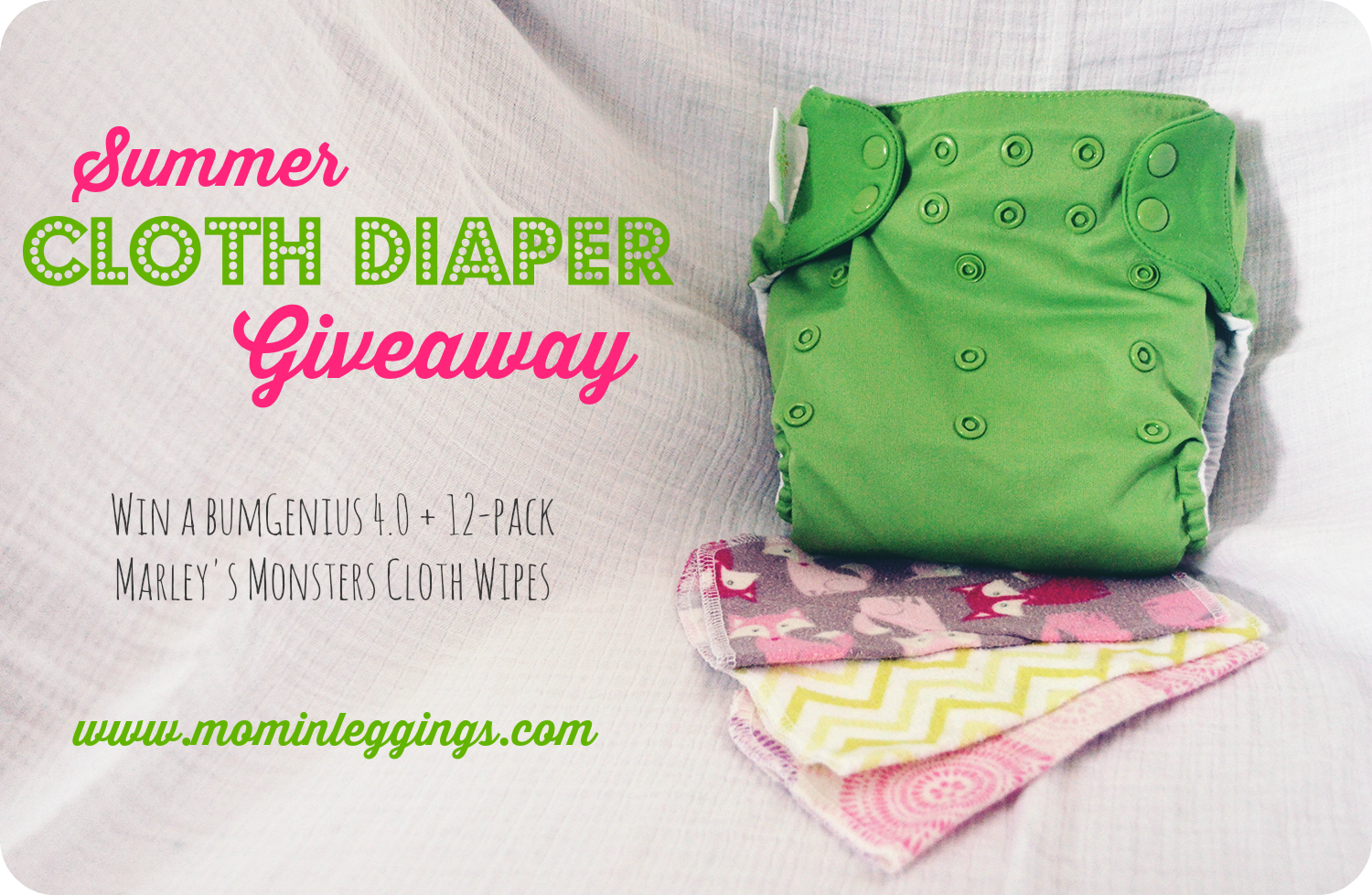 Summer Cloth Diaper Giveaway