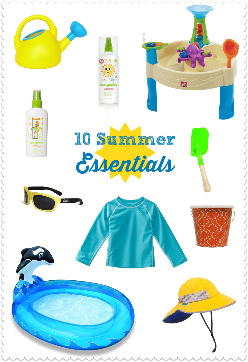 10 Essentials for a Safe, Fun Summer