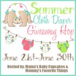 #SummerCloth Diaper Giveaway