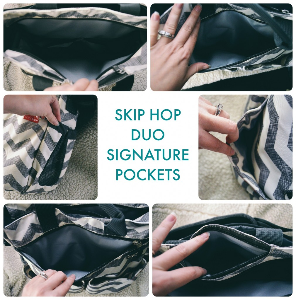 Skip Hop Duo Signature Pockets