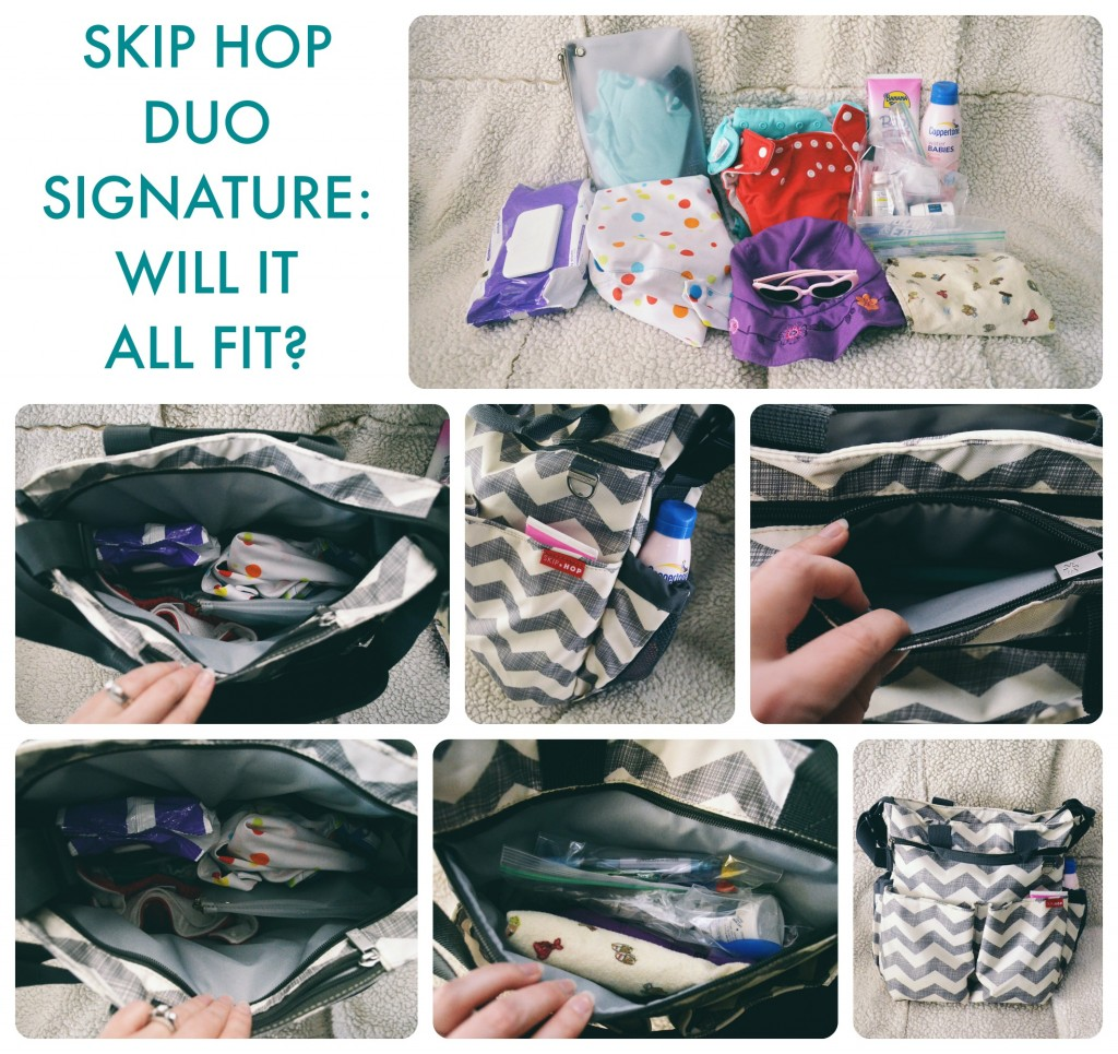 Skip Hop Duo Signature: Will it all fit?