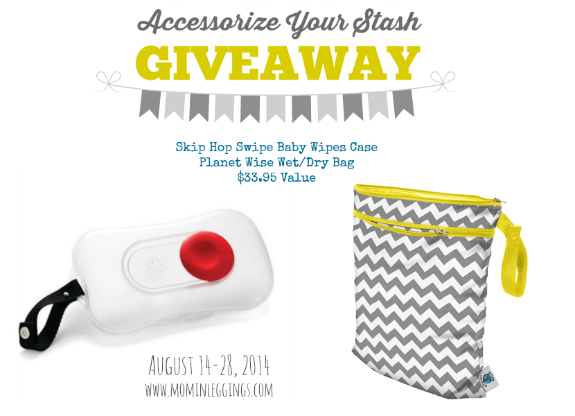 Accessorize Your Stash Giveaway: Planet Wise Wet Bag and Skip Hop Swipe Baby Wipes Case