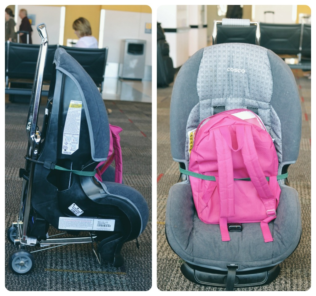 Traveling with Car Seats in Airports