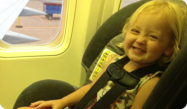 How To Install A Car Seat On Plane