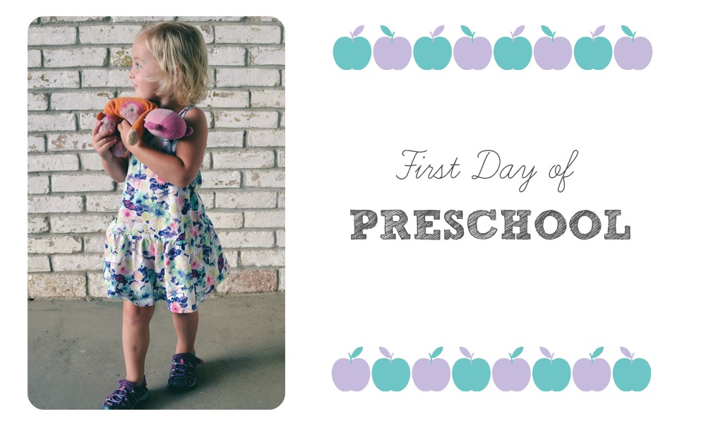 Isla's First Day of Preschool