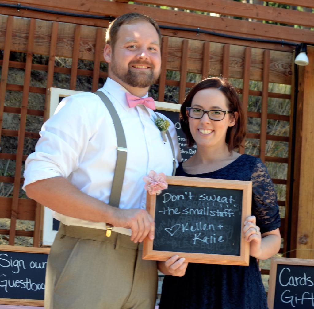 Kellen and Katie at Oregon wedding number 2