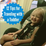 12 Tips for Flying with a Toddler