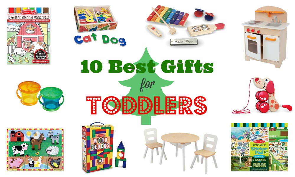 10 Best Holiday Gifts for Toddlers