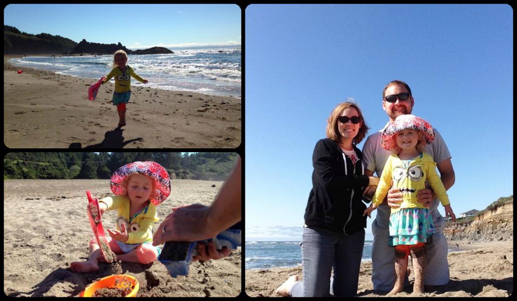 Family fun at Fogarty Beach