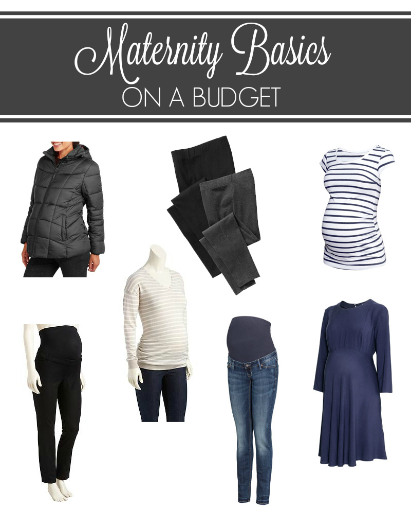 Maternity Basics on a Budget