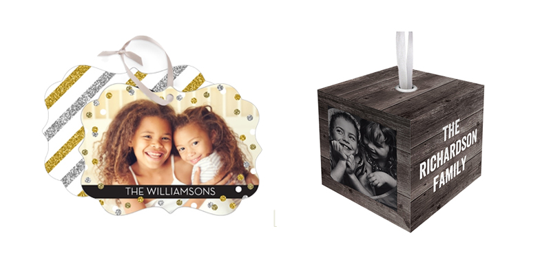 Shutterfly Keepsake Ornaments