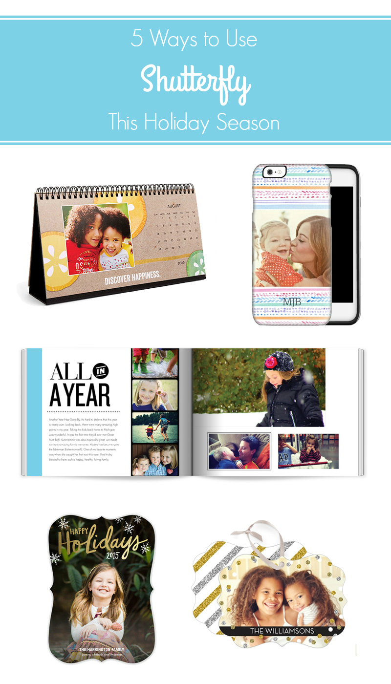 5 Ways to Use Shutterfly This Holiday Season