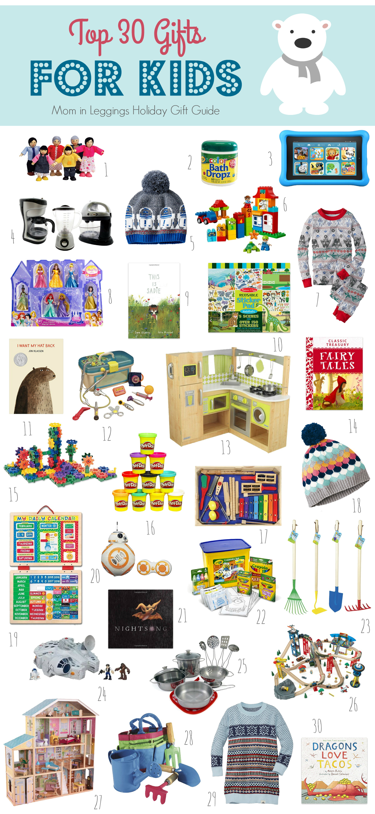 Top 30 Gifts for Kids