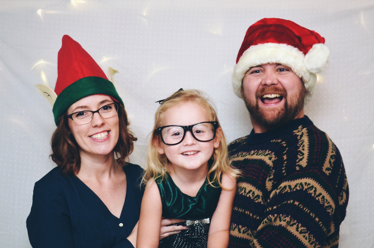 Our Family at the Christmas Party