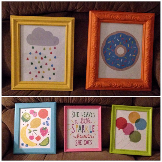Nursery Wall Art and DIY Frames