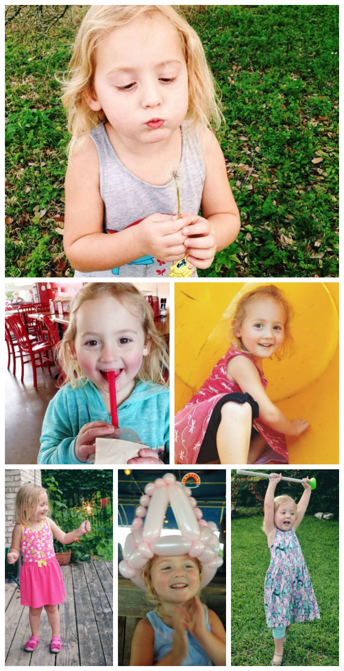 Collage of Isla this year